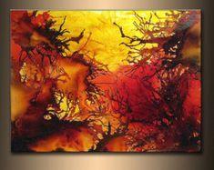 OVERSIZE ORIGINAL abstract Painting von newwaveartgallery auf Etsy