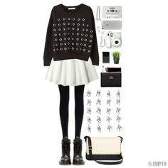 黑白配 Spring Fashion, What To Wear, My Style, Polyvore, Outfits, Image, Clothes, Fashion Spring, Suits