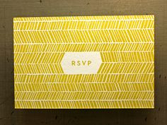 Local Mpls designers Ross Bruggink and Jessica Keintz were married last year and we were pumped to print their invites that utilized beautiful eclectic typography.    An arrow theme, which we have a hunch is based on the bride's wrapping arrow engagement ring, runs throughout this two color suite.