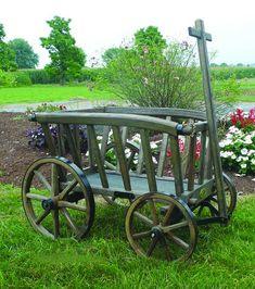Lovely Amish Wagon Wheel