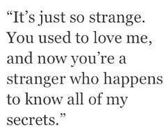 Strange? Yes!