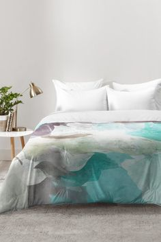 Irena Orlov Through Waves Comforter | DENY Designs Home Accessories