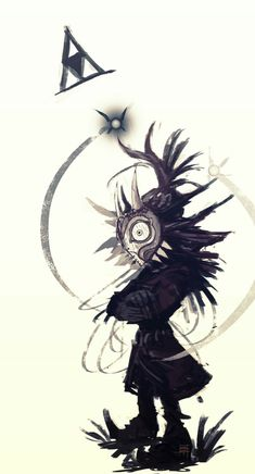 Find images and videos about the legend of zelda, majora's mask and skull kid on We Heart It - the app to get lost in what you love. The Legend Of Zelda, Legend Of Zelda Tattoos, Link Zelda, Video Game Art, Video Games, Illustration Book, Majora Mask, Image Zelda, Mononoke