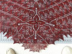Madrona shawl! I love this design by Romi