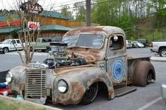 . Saw this in SC at a car show this past Fall, I wonder where/when this pic was taken?