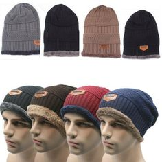 7108cd1788b Winter Outdoor Sports Riding Unisex Caps Wool Beanie Knitted Hats  warmhat   winterhats  winterclothes