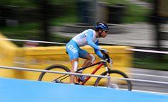 Atleta Luis Rodrigo Godoy de Ciclismo  Foto: Juan Manuel Mijangos.