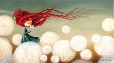 Ana by Valeria Docampo. Illustration.