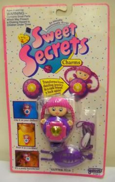 Sweet secrets - I liked the idea of this because it involved keeping a secret from your parents.
