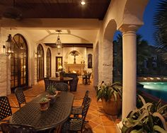 Hacienda Style Houses Design, Pictures, Remodel, Decor and Ideas - page 6
