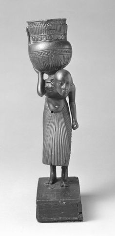 Servant Bearing a Vessel, Ancient Egypt collection - World Museum, Liverpool museums