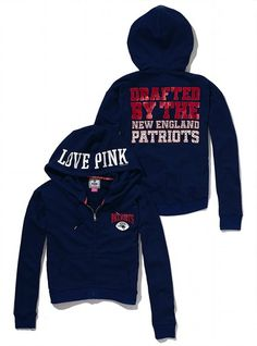 Victoria's Secret PINK® New England Patriots Bling Slouchy Zip Hoodie #VictoriasSecret http://www.victoriassecret.com/pink/new-england-patriots/new-england-patriots-bling-slouchy-zip-hoodie-victorias-secret-pink?ProductID=74133=OLS=true?cm_mmc=pinterest-_-product-_-x-_-x