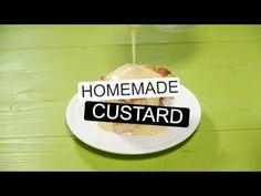 How To Make Homemade Custard - YouTube