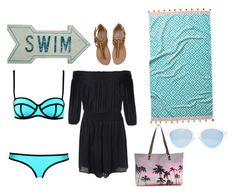 """""""BEACHDESIGN"""" by fashionqueen06 ❤ liked on Polyvore featuring Milly, Glamorous, Dot & Bo, Billabong, John Robshaw, Samudra and Quay"""