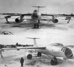 The OKB-1 '150' was a jet bomber designed and produced in the USSR from 1948.