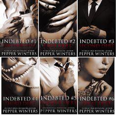 Românticos e Eróticos  Book: Pepper Winters - Indebted #1 a #5
