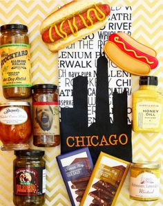Chicago is one of the top four foodie cities in the U.S. Now you can enjoy the city's flavors thanks to our new Regionally Inspired Gift Basket Collection. -Image from Chicago Foodie Girl