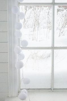 White Winter Window