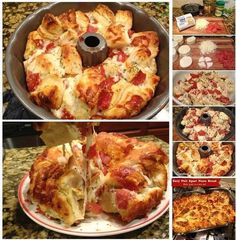 Pizza monkey bread- made it just dont over cook, keep it thiner and eat with ranch. uber yummy
