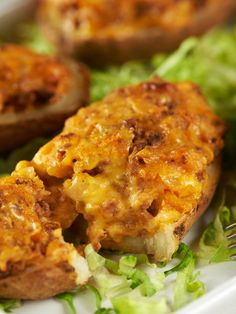 Cheeseburger-Stuffed Baked Potatoes this Wednesday! How do You Like Your Burgers? #StuffItMonth