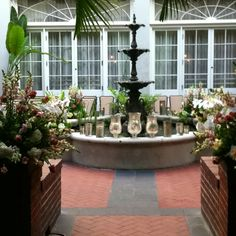 Royal Sonesta Courtyard New Orleans, La wedding of Stephanie & Derek