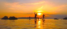 Paddling under the glorious sun of Skopelos...  Paddling κάτω από τον λαμπερό ήλιο της Σκοπέλου...  www.skopelos.gr  #skopelos #visitskopelos #apieceofyourheart #apieceofyourart #visitskopelosisland #sporades #visitsporades #sporadesislands #greece #dive #weddings #honeymoon #hiking #ecology #beaches #greek #vacation #holidays #mamamia #travel #visitgreece #Paddling Celestial, Activities, Sunset, Outdoor, Sunsets, Outdoors, The Great Outdoors, The Sunset