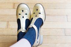 Socks x sandals (Mellow Yellow)
