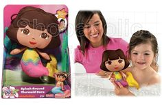 Fisher-Price .   Splash Around Mermaid Dora the Explorer - To order: http://www.shopaholic.com.ph/toys.html#!/Fisher-Price-Splash-Around-Mermaid-Dora-the-Explorer/p/30687482/category=6708182