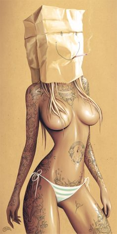 Paper Bag Girls on Behance