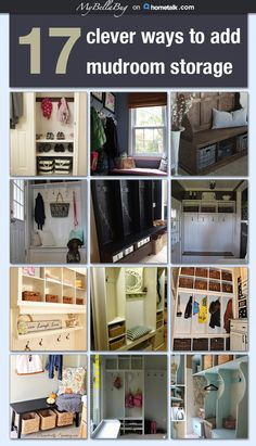 17 clever ways to add mudroom storage