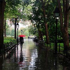 Love those rainy summer days.