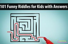 Kids love to test riddles on their family and friends. Here are 101 funny riddles with answers for your kids. These good riddles can be fun while traveling Funny Riddles With Answers, Jokes And Riddles, Good Jokes, Funny Jokes, Puzzles Für Kinder, Puzzles For Kids, Activities For Kids, Group Activities, Activity Games