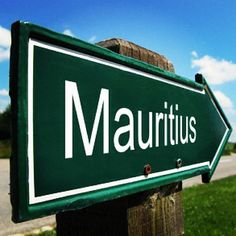 """Your journey starts here!"" - Mauritius"