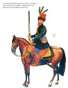 Transylvanian noble cavalryman, 1670