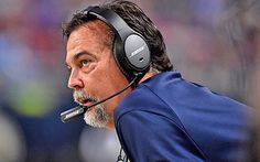 Jeff Fisher's job is safe with Rams likely stuck in St. Louis for now. Fisher has one year remaining on a five-year, $35 million deal.  12/17/2015