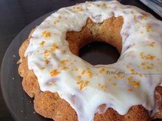 Orange Sponge Cake with Orange icing ..