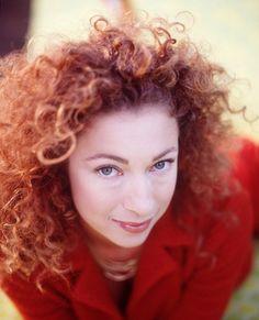 Alex Kingston--Dianne Nola | Hair Stylist | Curly Hair Specialist www.nolastudio.com