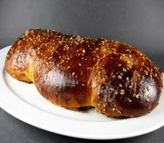 Cougnou - rich Belgian brioche-type bread shaped to resemble a swaddled infant. Locally known as the Bread of Jesus.