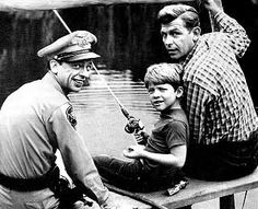 Barney, Opie, and Andy - The Andy Griffith Snow