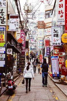 Gangnam in Seoul Korea Seoul Korea, Korea 20, Busan Korea, South Korea Travel, Asia Travel, Places To Travel, Places To Go, The Rok, Dreams