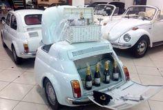 Fiat 500 frigo +bar