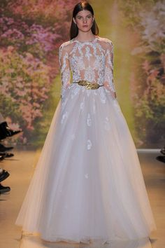 Zuhair Murad dress from Couture Spring 2014 in Paris