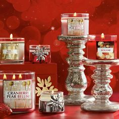 Love, love, LOVE bath and body works & White Barn Candles!!