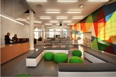 Educational Buildings Architecture Inspiration – 8 Cool High School, College a… - Diy Techniques Education Architecture, School Architecture, Interior Architecture, Interior Design Awards, Best Interior Design, Teen Library Space, School Building, Team Building, Library Design