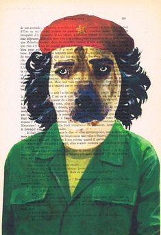 Hey, I found this really awesome Etsy listing at https://www.etsy.com/listing/191204285/che-guevara-dog-print-poster