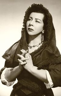 Giulietta Simionato was an Italian mezzo-soprano. Her career spanned the period from the 1930s until her retirement in 1966.
