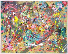 if I could have any piece of artwork, one by Jackson Pollock would be top of my list.