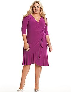 ba4884b5f42 Kohl s plus size · Whimsy wrap dress by Kiyonna