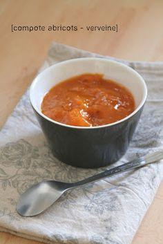 Et Charlotte découvrit la cuisine...: Compote d'Abricots à la Verveine