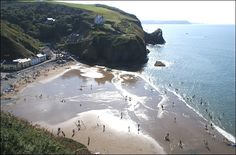 Llangrannog my favorite place in the world! Going there this week